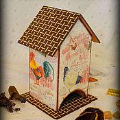 """Для дома и интерьера ручной работы. Ярмарка Мастеров - ручная работа Чайный домик """"Кантри"""". Handmade."""