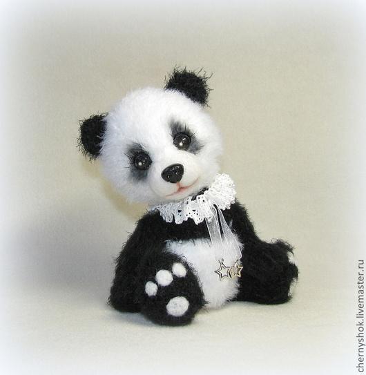 Мишки Тедди ручной работы. Ярмарка Мастеров - ручная работа. Купить Джимми. Handmade. Чёрно-белый, мишка панда