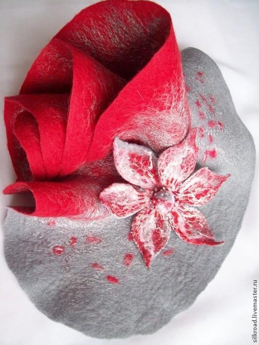 Шарфы и шарфики ручной работы. Ярмарка Мастеров - ручная работа. Купить Шарф Красный жемчуг. Handmade. Разноцветный, шарф женский