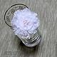 Другие виды рукоделия ручной работы. Ярмарка Мастеров - ручная работа. Купить Цветы гвоздики (6,5 см), 50 шт. ВГ431100. Handmade.