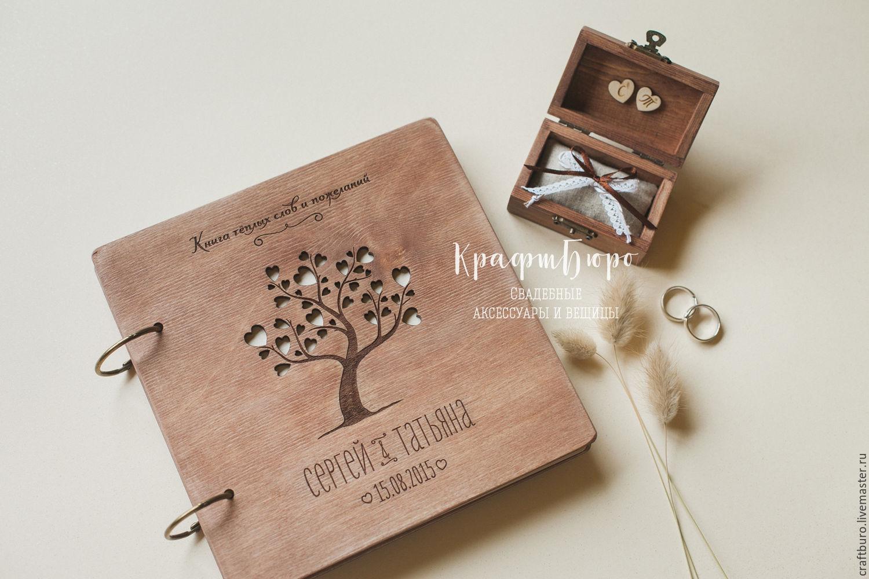 коробочки для фотографий из дерева