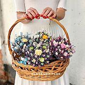 Букеты ручной работы. Ярмарка Мастеров - ручная работа Букеты из лаванды, сухоцветов и стабилизированных роз. Handmade.