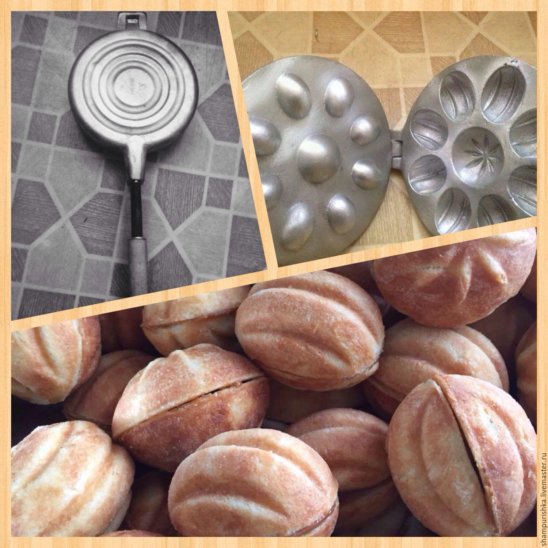 Формы для выпечки печенья орешек вафлей
