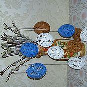 Для дома и интерьера ручной работы. Ярмарка Мастеров - ручная работа Пасхальные яйца. Handmade.
