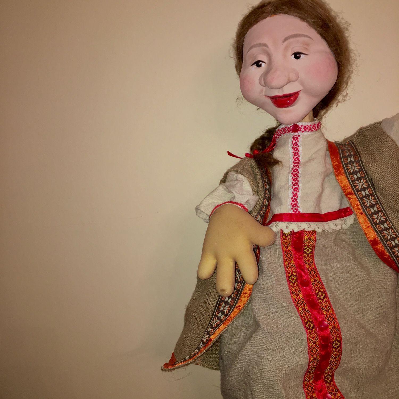 Кукла Маруся на гапите, Народная кукла, Нижний Новгород,  Фото №1