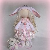 Куклы и игрушки handmade. Livemaster - original item The Doll Interior. Author`s Textile Little Lamb.Gift 2015. Handmade.