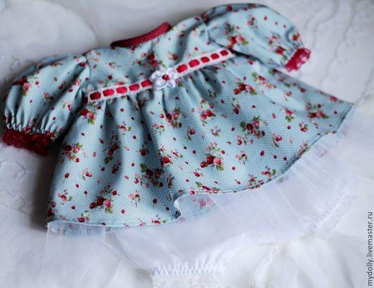 """Одежда для кукол ручной работы. Ярмарка Мастеров - ручная работа. Купить Комплект одежды для куклы 38- 40 см """"Ягодка"""". Handmade."""