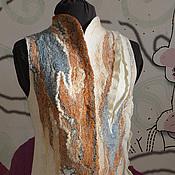 """Одежда ручной работы. Ярмарка Мастеров - ручная работа Жилет """"Этюды"""". Handmade."""