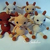 Куклы и игрушки ручной работы. Ярмарка Мастеров - ручная работа Коза амигуруми, авторская работа. Handmade.