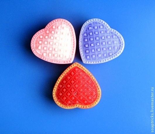 Мыло ручной работы. Ярмарка Мастеров - ручная работа. Купить Мыло Драгоценное сердце. Handmade. Красный, подарок девушке