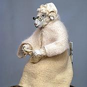 """Куклы и игрушки ручной работы. Ярмарка Мастеров - ручная работа авторская кукла """"Овца-белая королева"""". Handmade."""