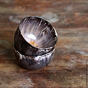 Посуда ручной работы. Ярмарка Мастеров - ручная работа пиалы кофе со сливками. Handmade.