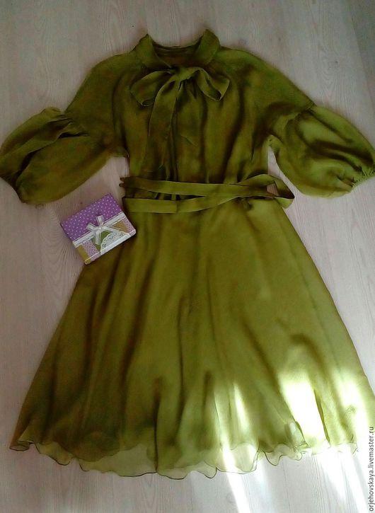 Платья ручной работы. Ярмарка Мастеров - ручная работа. Купить Лето - время платьев из шелкового шифона. Handmade. Комбинированный