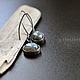 Серьги ручной работы. Ярмарка Мастеров - ручная работа. Купить Glimmer - серебряные серьги с лабрадором (серебро 925). Handmade. сережки