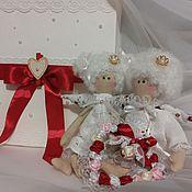 Куклы и игрушки ручной работы. Ярмарка Мастеров - ручная работа ангелы свадебные. Handmade.