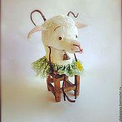 """Куклы и игрушки ручной работы. Ярмарка Мастеров - ручная работа коза """"А где-то затерялось лето..."""". Handmade."""
