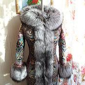 """Одежда ручной работы. Ярмарка Мастеров - ручная работа Зимнее пальто """"Самоцветы"""".. Handmade."""