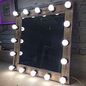 Для дома и интерьера ручной работы. Ярмарка Мастеров - ручная работа Макияжное подвесное зеркало в стиле LOFT. Handmade.