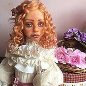 Куклы и пупсы ручной работы. Ярмарка Мастеров - ручная работа Аделия. Будуарная кукла из полимерной глины.. Handmade.