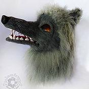 """Одежда ручной работы. Ярмарка Мастеров - ручная работа Маска """" Волк"""". Handmade."""