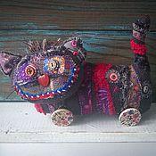 Куклы и игрушки ручной работы. Ярмарка Мастеров - ручная работа Вуду-котярус текстильная игрушка кот. Handmade.