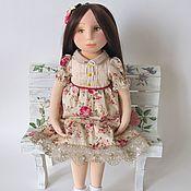 Куклы и игрушки handmade. Livemaster - original item Interior textile doll in sculptural technique. Handmade.
