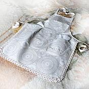 Aprons handmade. Livemaster - original item Apron waterproof