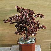 Подарки к праздникам ручной работы. Ярмарка Мастеров - ручная работа Дерево счастья из красной яшмы. Handmade.