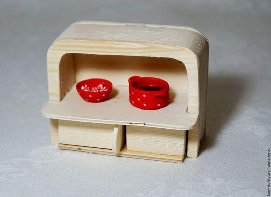 Кукольный дом ручной работы. Ярмарка Мастеров - ручная работа. Купить Кухонный шкаф  (sylvanian families) - 4. Handmade. Комбинированный