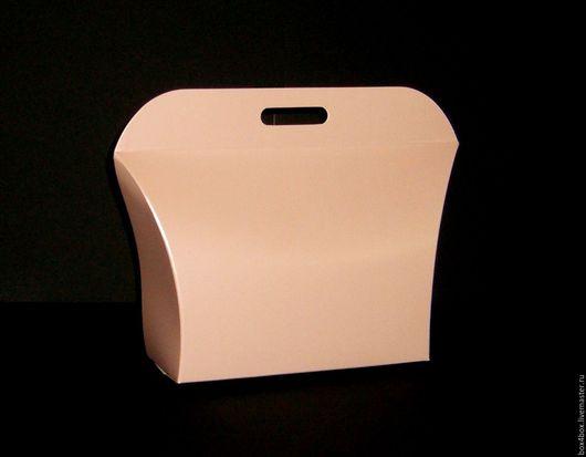 Подарочная упаковка ручной работы. Ярмарка Мастеров - ручная работа. Купить Пакет. Handmade. Бледно-розовый, упаковка для подарка