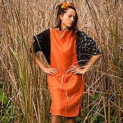 Одежда ручной работы. Ярмарка Мастеров - ручная работа Платье льняное Asia M. Handmade.
