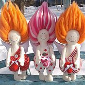 Куклы и игрушки ручной работы. Ярмарка Мастеров - ручная работа Валентинчик. Handmade.