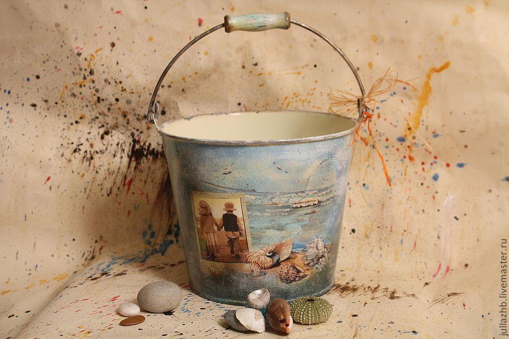 bucket of sea treasures, Interior elements, Sergiev Posad,  Фото №1