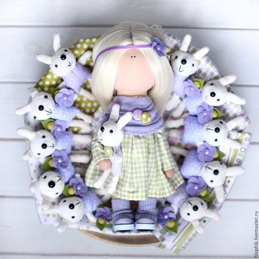 """Куклы и игрушки ручной работы. Ярмарка Мастеров - ручная работа. Купить Кукольный парик""""Блондин чистый88"""". Handmade. Тильда, Аксессуары handmade"""