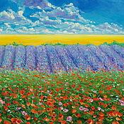 Картины и панно handmade. Livemaster - original item Oil painting on canvas. The palette of summer. Handmade.