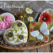 """Мыло ручной работы. Ярмарка Мастеров - ручная работа """"Цветы-мечты"""" Набор мыла ручной работы. Handmade."""