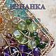 Pendants handmade. Order Pendant 'Landscape'. Simkha - Jewelry For Joy. Livemaster. Handmade, gold, topaz, aventurine, garnet