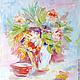 Картина `Роскошные цветы`. Доставка по всему миру авиа почтой бесплатно.  Картина - красивый подарок на день рождения, свадьбу, юбилей, Рождество, Новый Год. Подарок для девушки, женщины.