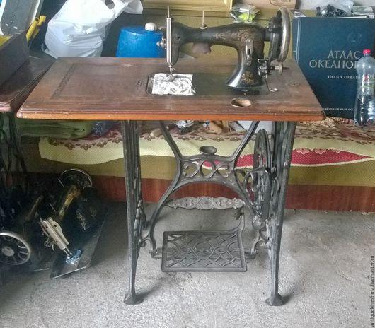 Мебель ручной работы. Ярмарка Мастеров - ручная работа. Купить Швейная машина Аронъ Биберъ 19 век. Handmade. Черный