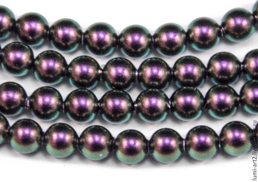 Для украшений ручной работы. Ярмарка Мастеров - ручная работа. Купить 5мм Iridescent Purple Жемчуг Сваровски 943 Swarovski Perl 25 шт. Handmade.