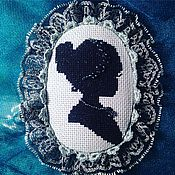 Украшения ручной работы. Ярмарка Мастеров - ручная работа Брошь-камея Любимый образ. Handmade.