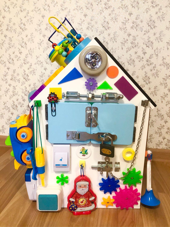 Бизиборд дом. Отличный подарок!, Бизиборды, Сургут,  Фото №1