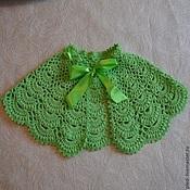 Аксессуары handmade. Livemaster - original item Pointelle drape for girls. Handmade.