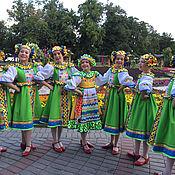 Одежда ручной работы. Ярмарка Мастеров - ручная работа Танцевальный костюм для девочки. Handmade.