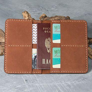 Bags and accessories handmade. Livemaster - original item Optimum leather purse. Handmade.