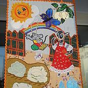 Картины и панно ручной работы. Ярмарка Мастеров - ручная работа Панно Во саду ли, в огороде.... Handmade.