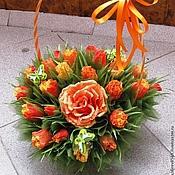 Цветы и флористика ручной работы. Ярмарка Мастеров - ручная работа Рыжик.... Handmade.