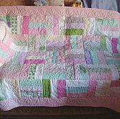 Для дома и интерьера handmade. Livemaster - original item Bedspread patchwork