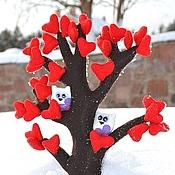 Подарки к праздникам ручной работы. Ярмарка Мастеров - ручная работа Деревья из фетра. Handmade.