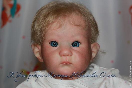 Куклы-младенцы и reborn ручной работы. Ярмарка Мастеров - ручная работа. Купить Оленька и Поленька.. Handmade. Сиреневый, винил